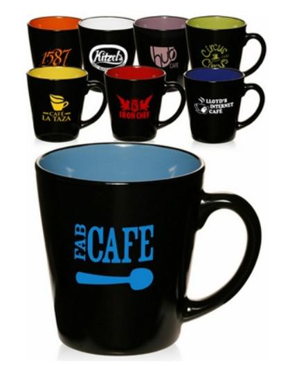 12 Oz. Two-Tone Latte Mug